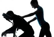 Démonstration Esthétique : Massage assis à l'huile