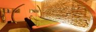 Démonstration Esthétique : Le massage Table Aladin