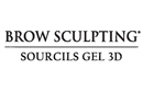 Brow Sculpting gel au salon du regard