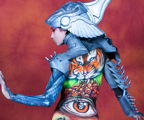 French Body Painting Award 2018