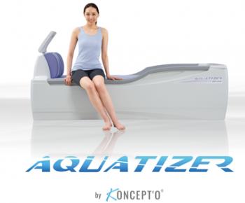Aquatizer By Koncept'O au salon spa et esthétique