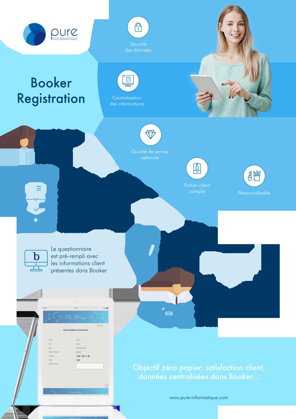 Pure Informatique – Spa Booker
