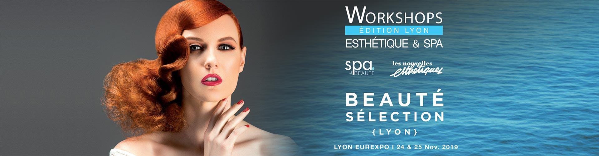 Salon de l'esthétique et du spa 2019 à Lyon