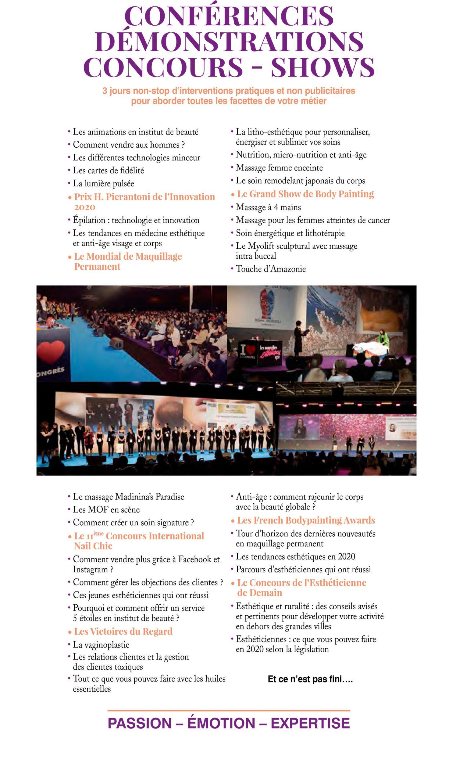 Conférences Esthétique 2020