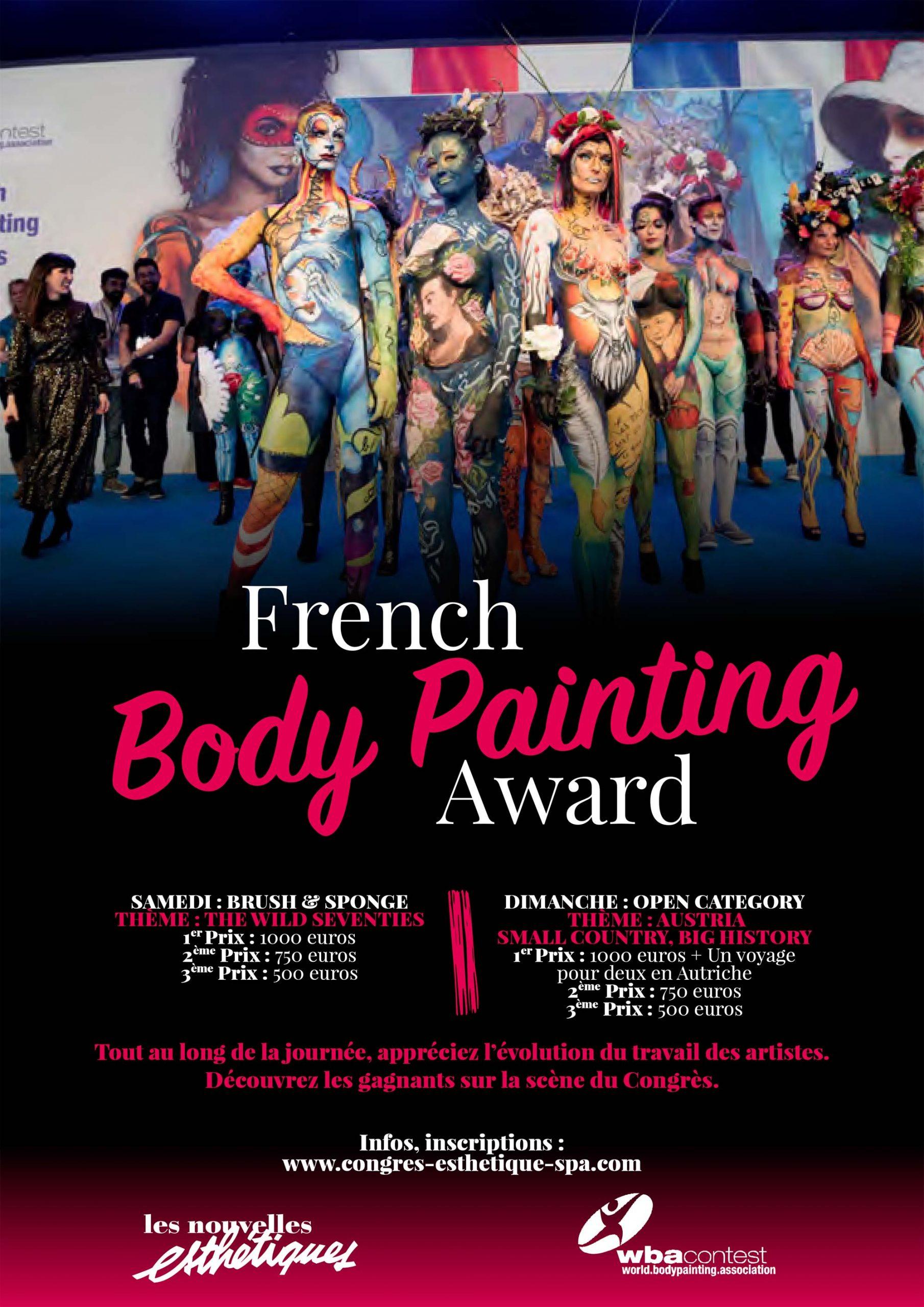 French Bodypainting Award 2020