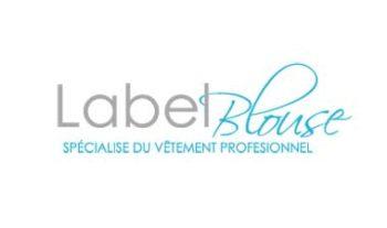 Label blouse au salon spa et esthétique